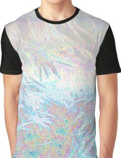 Databent Hair Pattern Graphic T-Shirt