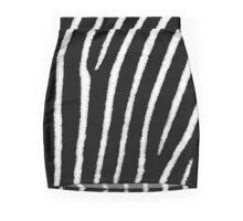 Zebra Print Mini Skirt