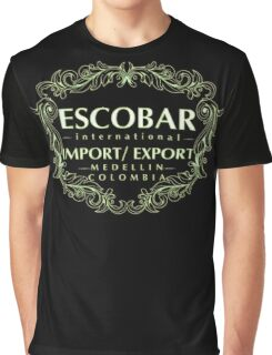 Escobar Import and Export White Sand Glow Graphic T-Shirt