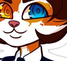 Cat girl sticker Sticker