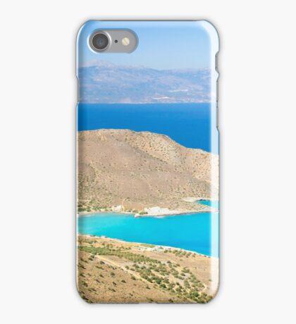 Spectacular scenery from Crete island, Greece iPhone Case/Skin