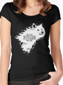 Game of doge Game of Thrones Women's Fitted Scoop T-Shirt