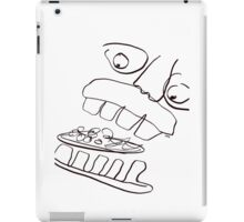 MUNCHING ON FALAFEL iPad Case/Skin