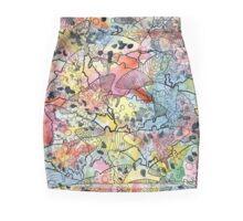 Swallowtail Burst Mini Skirt