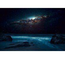 Ocean glow Photographic Print