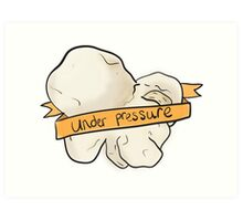 Under Pressure: Pop (corn) Art Art Print