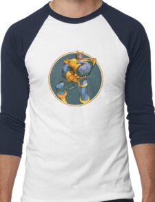 Mad Titan Men's Baseball ¾ T-Shirt