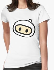 Bomberman Head Womens Fitted T-Shirt
