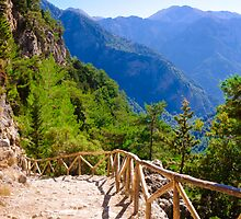 Samariá Gorge, island of Crete, Greece by Stanciuc