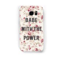what babe? Samsung Galaxy Case/Skin