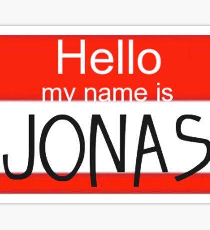 Weezer - My Name Is Jonas Sticker