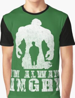 I'm Always Angry T-shirt - Cool Angry Crazy New Level Shirt Graphic T-Shirt