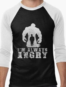 I'm Always Angry T-shirt - Cool Angry Crazy New Level Shirt Men's Baseball ¾ T-Shirt