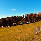Village scenery with fences | landscape photography by Patrick Jobst