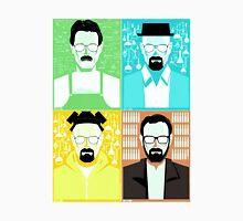 Walter White / Heisenberg Faces Breaking Bad Unisex T-Shirt