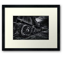 Cold steel Framed Print