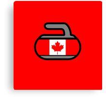 Canada Rocks! - Curling Rockers Canvas Print