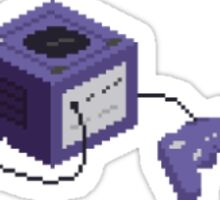 pixel gamecube sticker Sticker