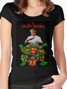 Shell's Kitchen Women's Fitted Scoop T-Shirt