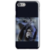 Indigo Quartz Crystal © Vicki Ferrari iPhone Case/Skin