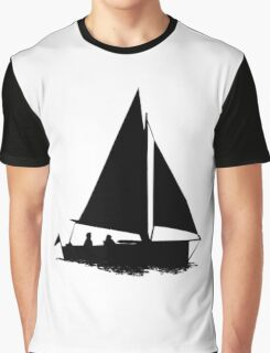 Sail Boat Graphic T-Shirt
