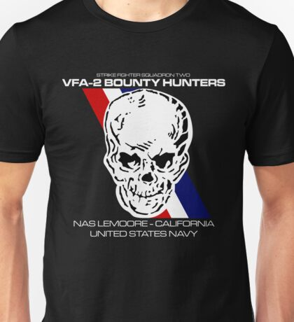 VFA-2 BOUNTY HUNTERS UNITED STATES NAVY STRIKE FIGHTER SQUADRON T-SHIRTS Unisex T-Shirt