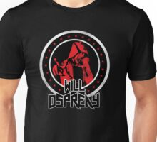 OSPREAY BLACK AND RED Unisex T-Shirt