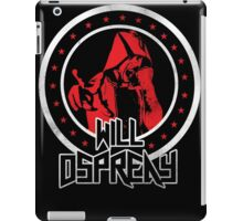 OSPREAY BLACK AND RED iPad Case/Skin