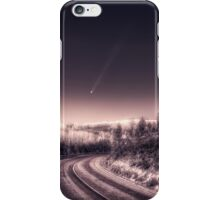 Falling star iPhone Case/Skin
