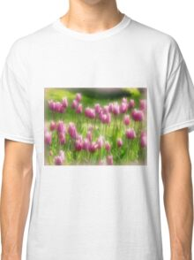 Tulips in the Garden Classic T-Shirt