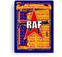 RAF Red Army Faction Canvas Print