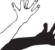 HAND BONE Sticker