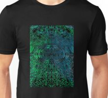Green and Blue scatter symmetry  Unisex T-Shirt