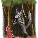 Litte Red and The Wolf by Extreme-Fantasy