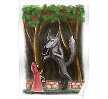 Litte Red and The Wolf Poster