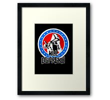 Will Ospreay Red White and Blue Framed Print