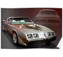 1979 Pontiac Firebird Trans Am Poster