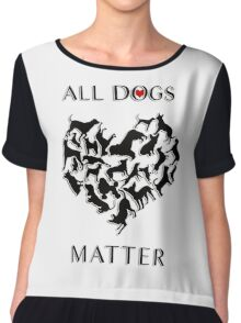 Every dog deserves a chance at having a loving, forever home; regardless of their breed and no matter the age, each dog deserves to be loved. Chiffon Top