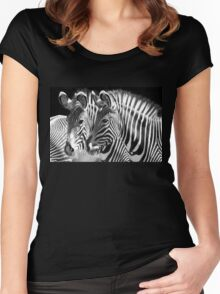 Fade with me Women's Fitted Scoop T-Shirt