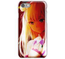Re:Zero kara Hajimeru Isekai Seikatsu - Emilia iPhone Case/Skin