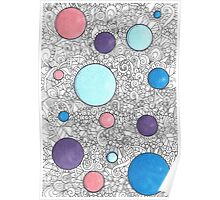 Bubble Zentangle Poster