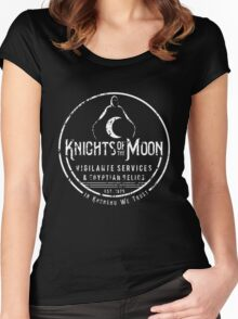 Knights of the Moon Women's Fitted Scoop T-Shirt