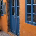 The Blue Door by Marylou Badeaux