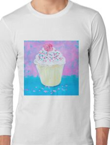 Cupcake with frosting Long Sleeve T-Shirt