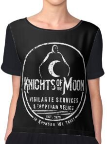 Knights of the Moon Chiffon Top