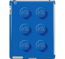 6 blue studs iPad Case/Skin