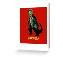 Gordzilla Ramsay Greeting Card