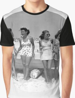 Cool Vintage Girls Graphic T-Shirt