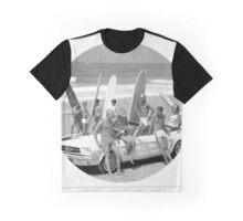 Cool Kids (Black and White) Graphic T-Shirt