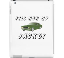 Fill Her Up Jacko iPad Case/Skin